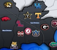 NCAA beharangozók - SEC
