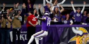 Patriots-Jaguars és Eagles-Vikings a Super Bowlért
