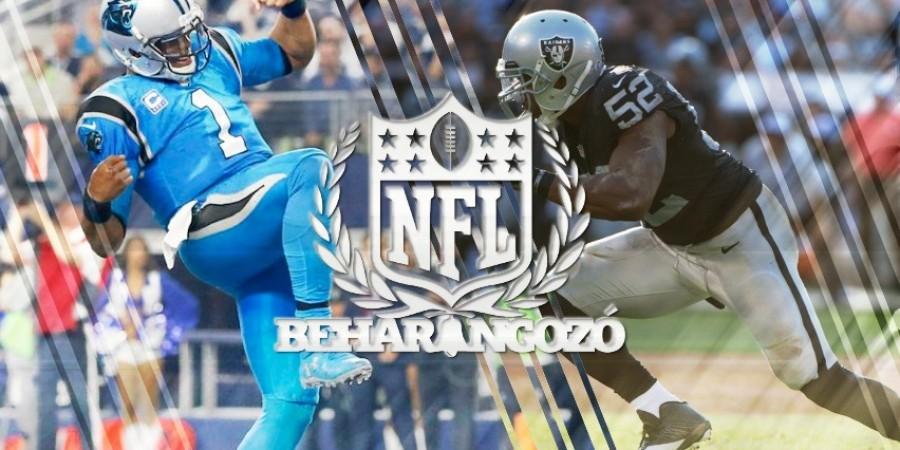 NFL meccsbeharangozók - 12. hét