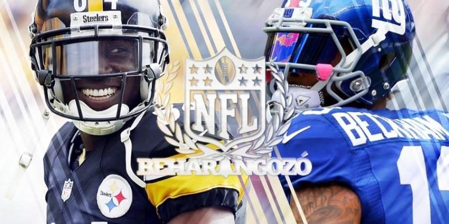 NFL meccsbeharangozók - 13. hét