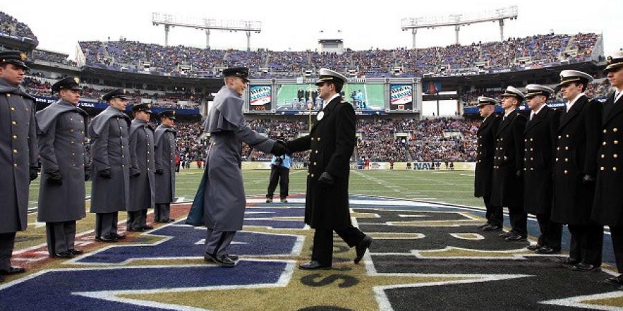 Army vs Navy, a vérbeli focirangadó