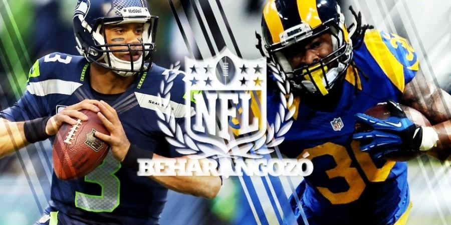 NFL meccsbeharangozók - 2. hét