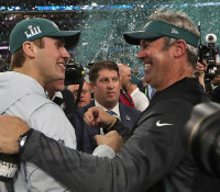 Super Bowl-győztes az Eagles